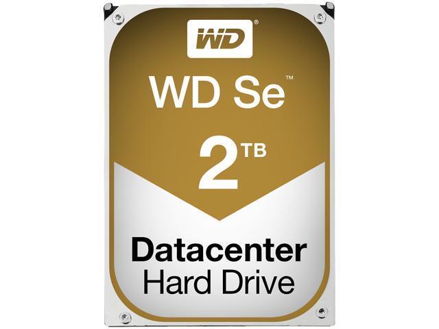 "WD Se WD2000F9YZ 2TB 7200 RPM 64MB Cache SATA 6.0Gb/s 3.5"" Enterprise Hard Drive"