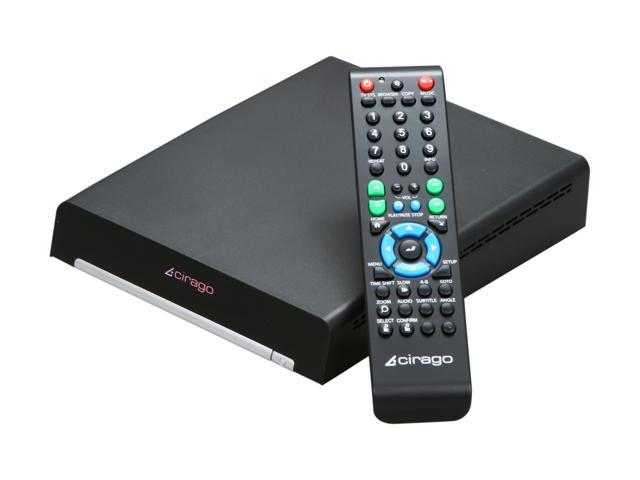 Cirago CMC3100 TV Platinum 1080p Network Multimedia Center
