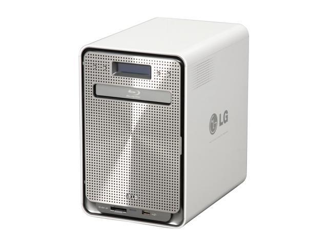 LG N4B1N 4 Bay Super Multi NAS with Built-in Blu-ray Rewriter