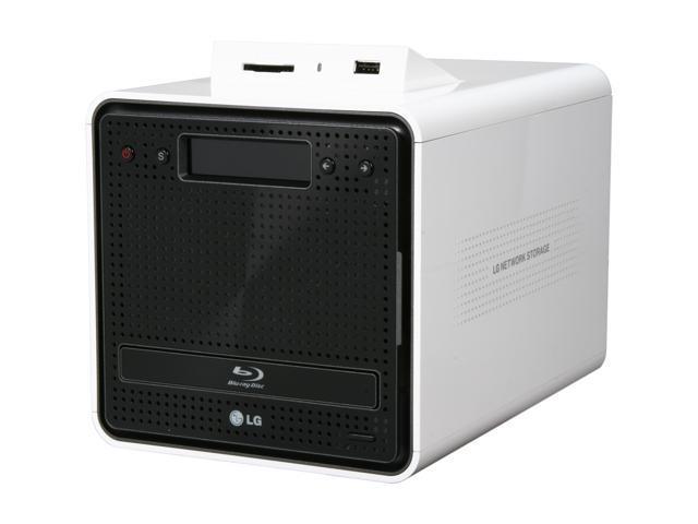 LG N2B1D Diskless System Super Multi NAS with Blu-ray Disc ReWriter