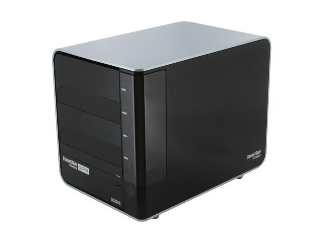 PROMISE SmartStor NS4600 Network Attached Storage and Digital Media Server