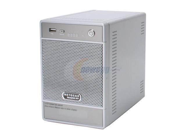 NETGEAR RND4475-100NAS-XRAID READYNAS NV Gigabit Desktop Network Storage(4 x 750GB)