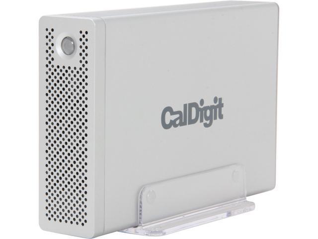 CalDigit AV Drive 2TB USB 3.0 / 2 x Firewire800 External Hard Drive Silver