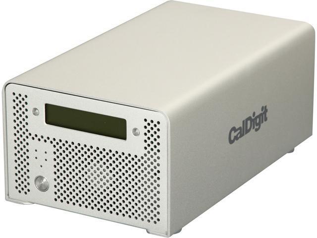 CalDigit VR2 2TB 1 x USB 3.0 / 2 x Firewire 800 / 1 x Firewire 400 / 1 x eSATA External Hard Drive 820514 Silver