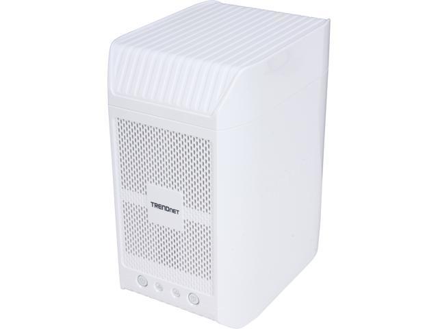 TRENDnet TN-200 Diskless System 2-Bay NAS Media Server Enclosure