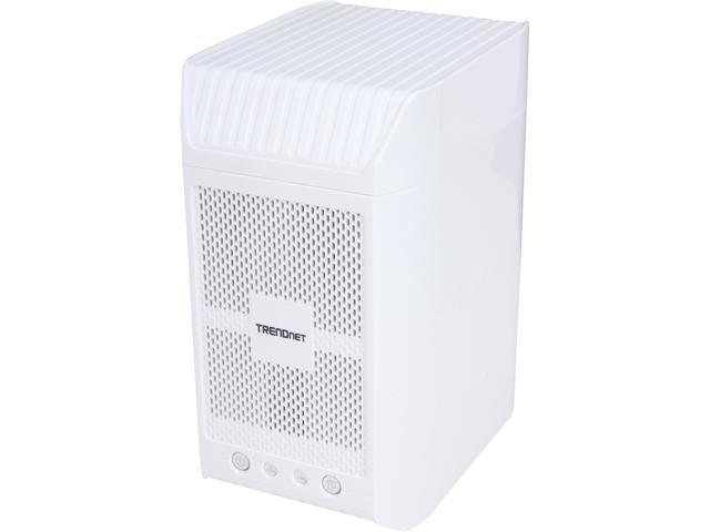 TRENDnet TN-200T1 1TB 2-Bay NAS Media Server Enclosure (1 x 1 TB)