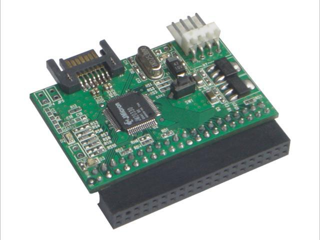 SYBA SY-JM-SIDE SATA/IDE Adapter, Connect IDE Devices to SATA Port on Motherboard