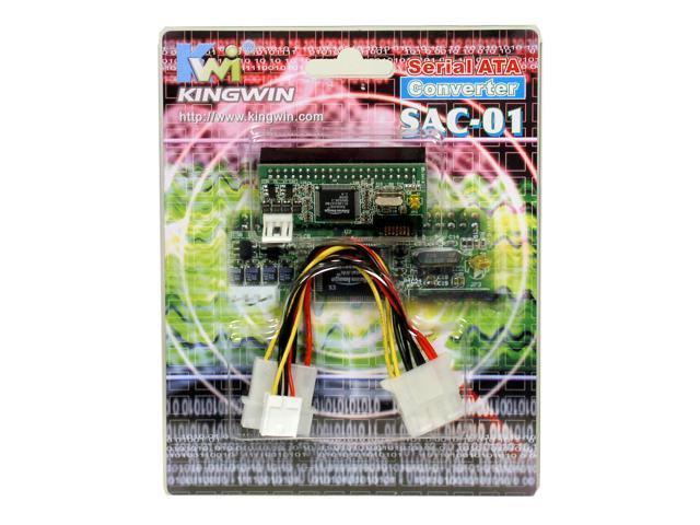 KINGWIN SAC-01 SERIAL ATA Converter, with power adapter