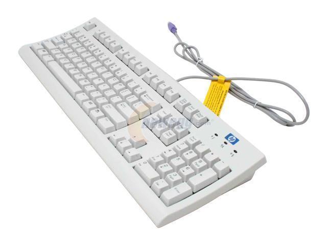 LITE-ON SK-2502C White PS/2 Standard Keyboard