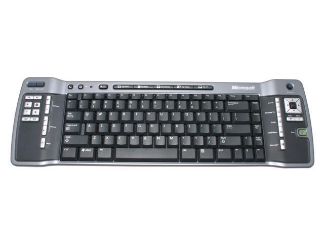 Microsoft ZV1-00004 Black IR Wireless Keyboard