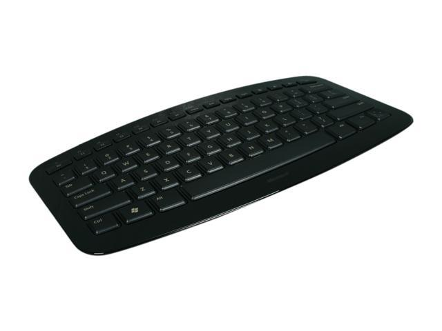 Microsoft Arc Black 2.4 GHz Wireless Keyboard