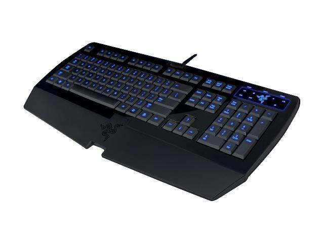 RAZER Lycosa RZ03-0018010 Black Gaming Keyboard
