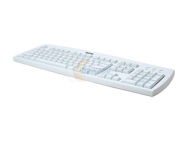 BenQ i100-White Beige PS/2 Standard Keyboard