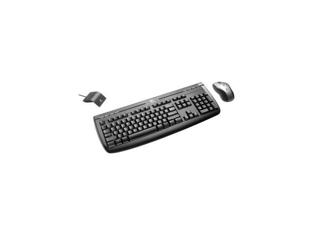 Logitech Internet 1500 Laser Black USB RF Wireless Standard Cordless Desktop Mouse Included