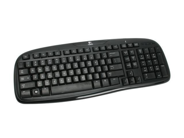 Logitech Classic Black USB Standard Keyboard 200