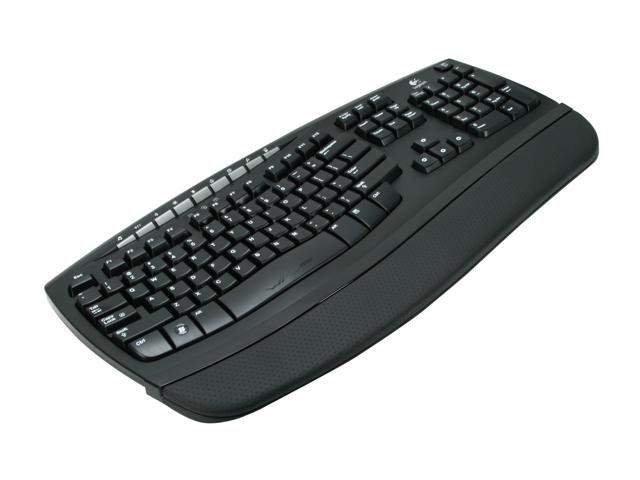 Wired Keyboard Logitech : logitech comfort wave 450 black 104 normal keys usb wired ergonomic keyboard ~ Vivirlamusica.com Haus und Dekorationen