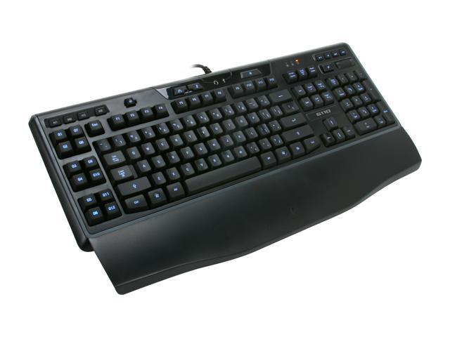 Logitech G110 LED Backlighting Gaming Keyboard