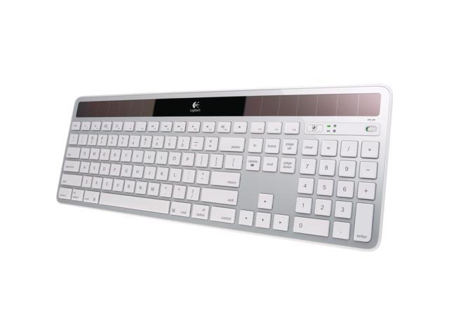 Logitech K750 2.4GHz Wireless Solar Powered Keyboard - White