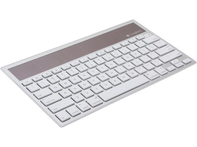 Logitech Wireless Solar Keyboard K760 White Bluetooth Wireless Keyboard