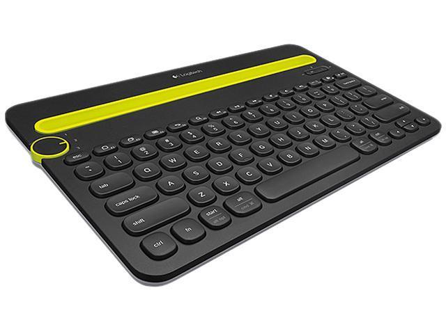K480 Bluetooth Multi-Device Keyboard , Black - Brown box