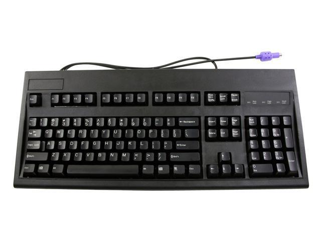KeyTronic E03600QLPS2B-C Black PS/2 Standard Keyboard