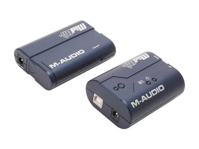 M-AUDIO MidAir Wireless MIDI Transmitter and Receiver System