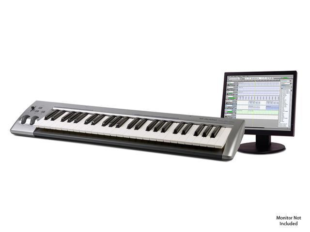 M-AUDIO Session Keystudio 49-Note USB MIDI controller and recording software