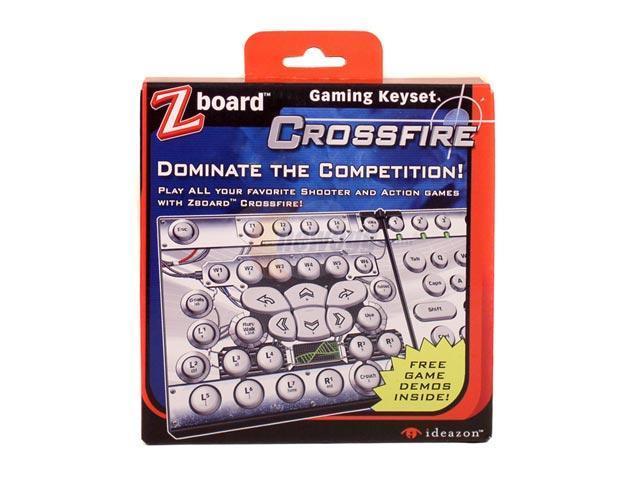 Ideazon Zboard Crossfire Game Keyset IW0USE1X1CSF01 PS/2 Wired Keyboard