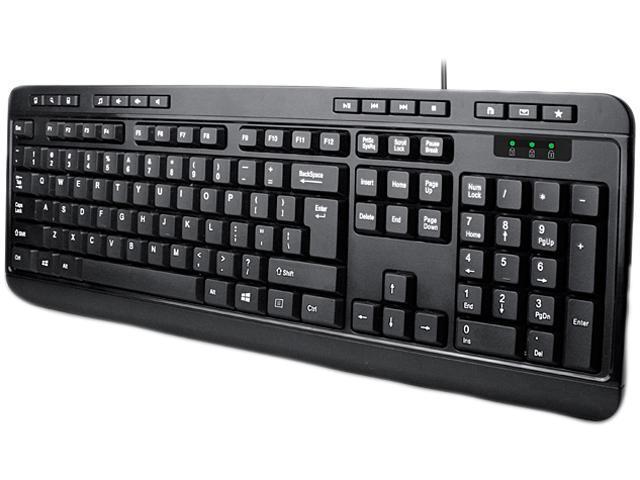 Adesso Multimedia Desktop Keyboard
