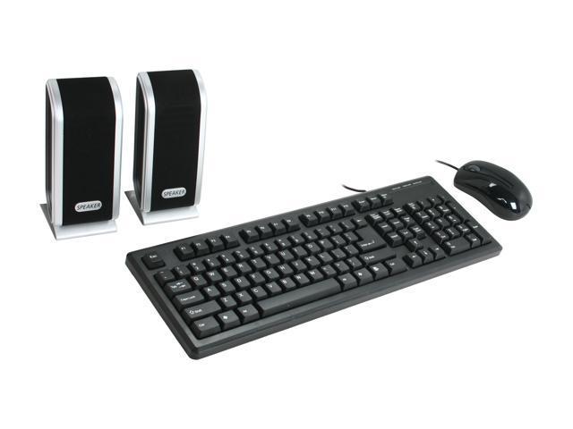 DCT Factory KBJ-315U Black USB Wired Standard Keyboard