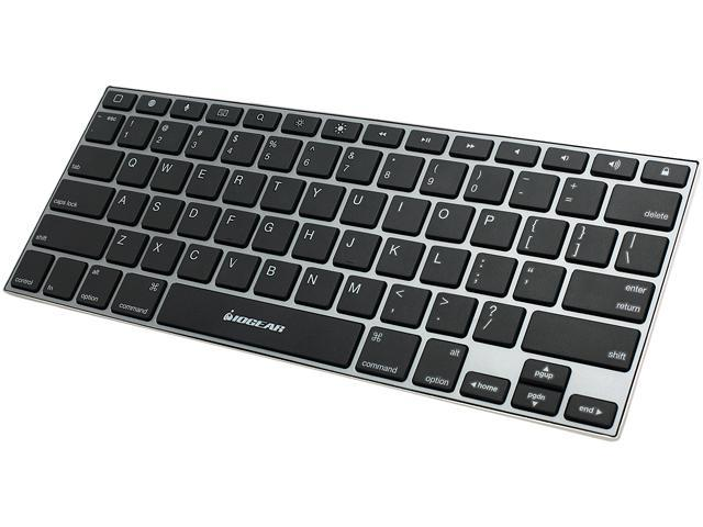 IOGEAR GKB641B Micro USB Bluetooth Wireless Slim Keyboard for iOS Devices