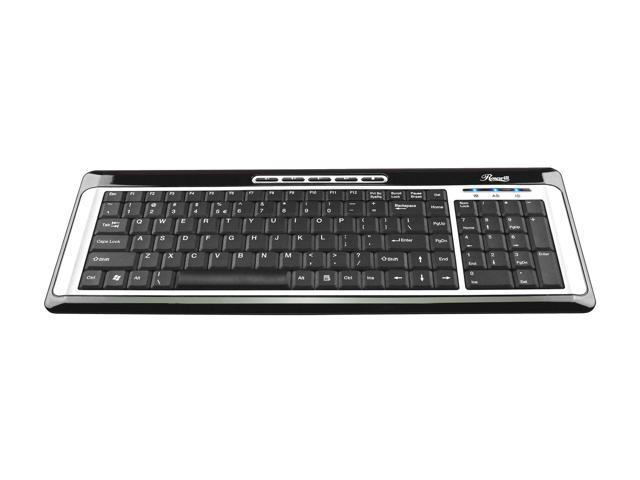Rosewill RK650 Silver/Black Keyboard