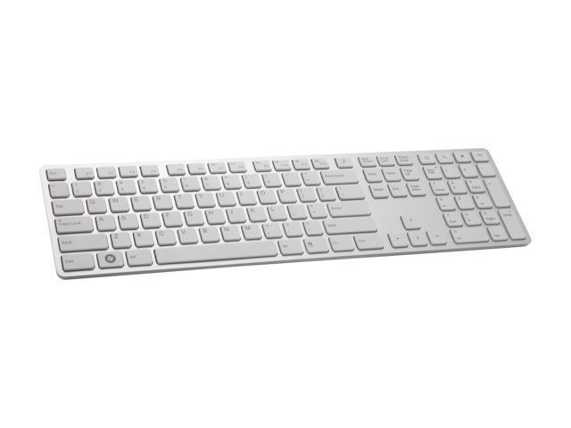 i-rocks KR-6402-WH White 109 Normal Keys USB Wired Slim Aluminum X-Slim Keyboard for PC - Newegg.com