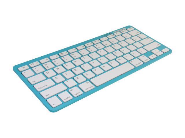 inland 71105 Blue Bluetooth Wireless Keyboard