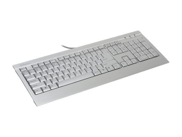 ENERMAX KB007U-S Silver Wired Keyboard