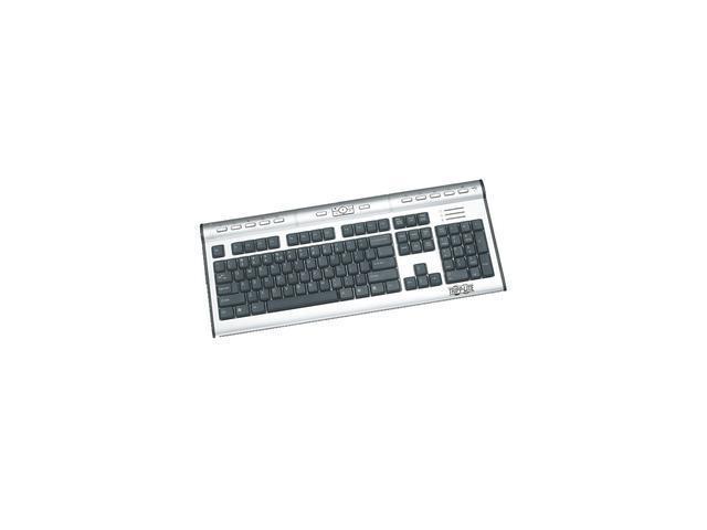 TRIPP LITE IN3007KB Silver/Black USB Wired Standard Premier Office Keyboard