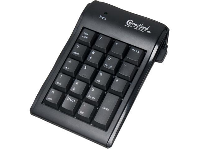 SYBA CL-KBD20006 Black Numeric Keypad