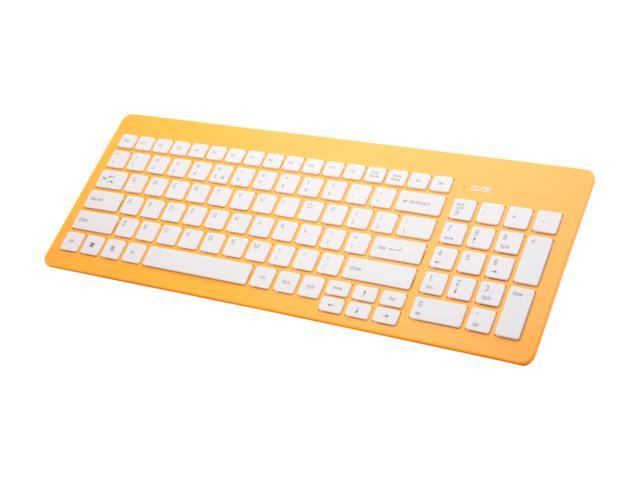 Wintec FileMate Imagine K2210 Melon Yellow Wired Keyboard