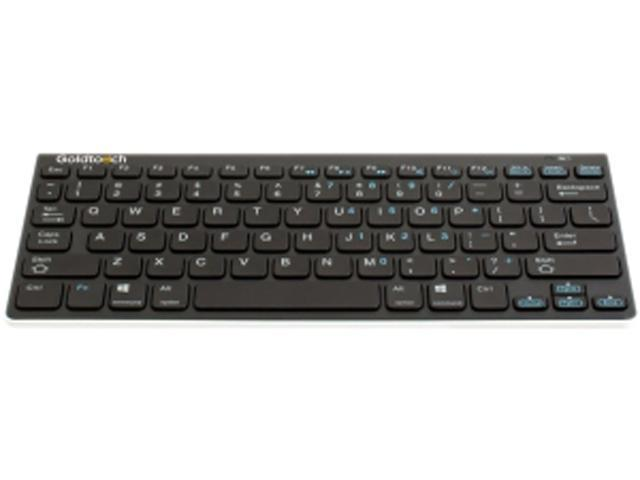 Goldtouch Bluetooth Mini Keyboard USB Bluetooth Wireless Ergonomic Keyboard