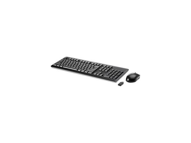 HP QY449AA#ABA Black USB RF Wireless Keyboard and Mouse