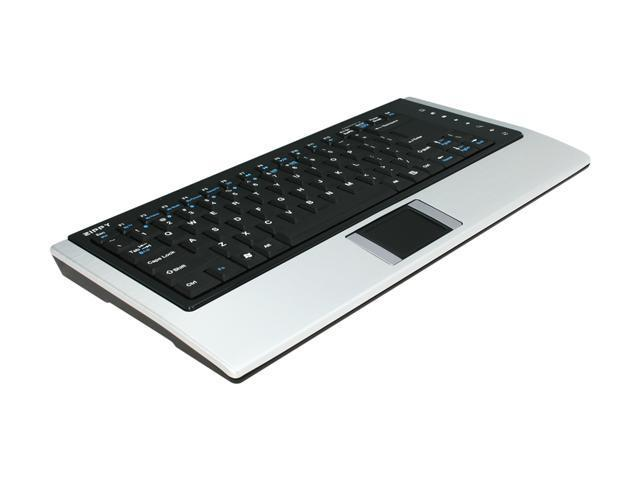 ZIPPY BT-637 Black&Silver Bluetooth Wireless Mini Keyboard
