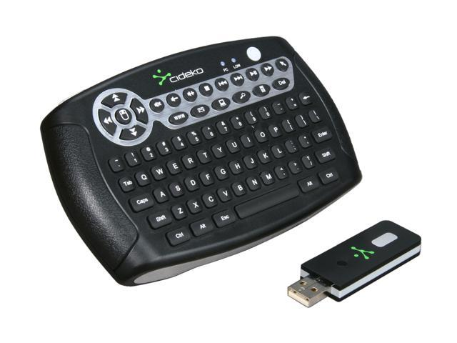 Cideko AVK-02-915 Black RF Wireless Mini Keyboard