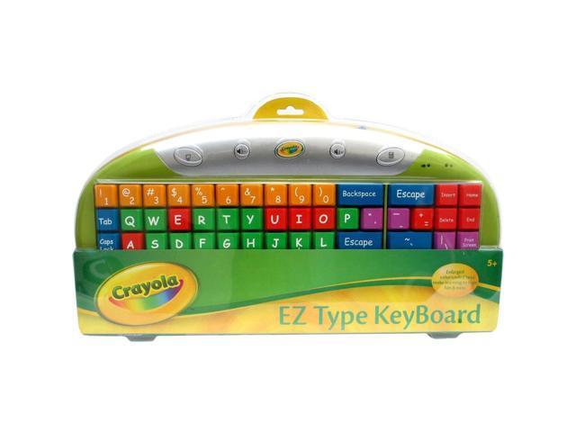 Ergoguys Crayola Kidz EZ Type Computer Keyboard