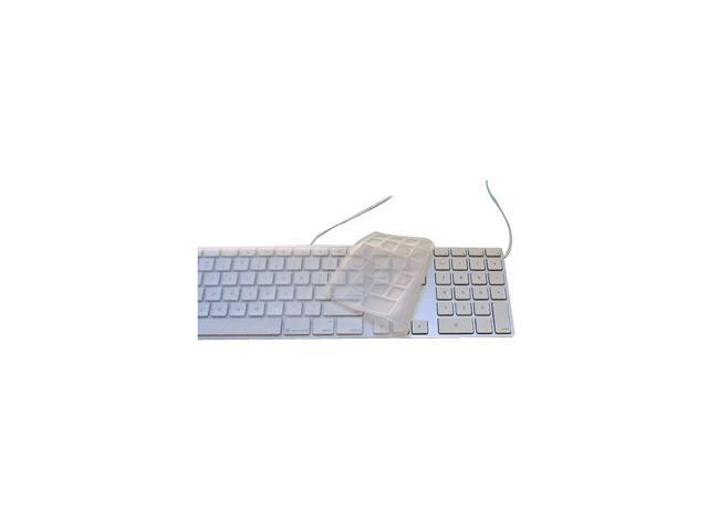 SoNNeT Carapace Silicone Keyboard Cover for Apple Aluminum USB Keyboard with Numeric Keypad Model KP-AL