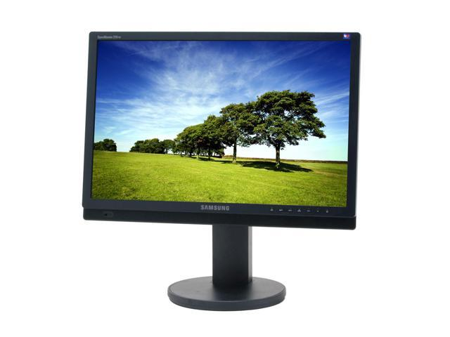 """SAMSUNG 215TW Black 21"""" 8ms(GTG) Widescreen LCD Monitor w/ 4 way Adjustments Built-in Speakers"""