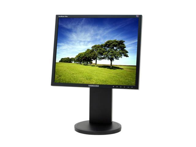 "SAMSUNG 740BX Black 17"" 5ms LCD Monitor with Height and Tilt Adjustments"