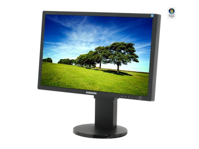 """SAMSUNG 245BW Black 24"""" 5ms Widescreen LCD Monitor with Height Adjustment"""