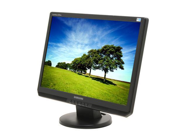 "SAMSUNG 2220WM Black 22"" 5ms Widescreen LCD Monitor Built-in Speakers"