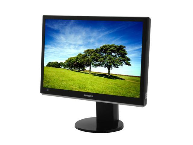 """SAMSUNG 2693HM Glossy Black 25.5"""" 5ms Widescreen LCD Monitor with Height/Pivot Adjustments Built-in Speakers"""