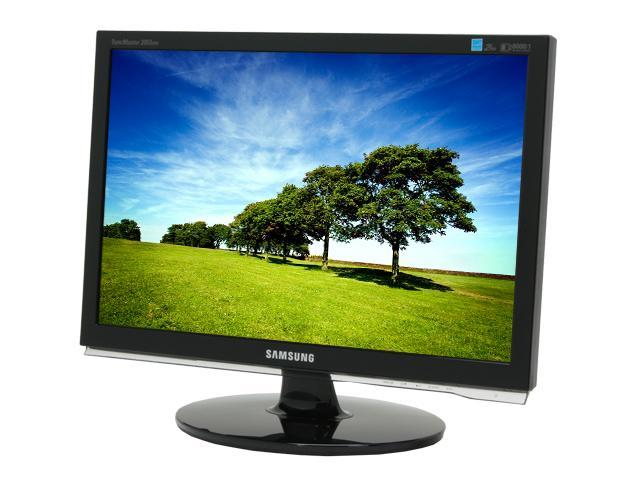 "SAMSUNG 2053BW High-gloss Black 20"" 5ms (2ms GTG) Widescreen LCD Monitor"